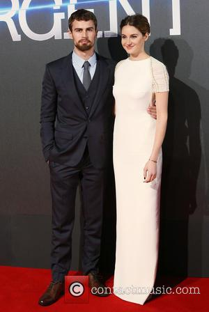 Shailene Woodley and Theo James - Shots of a host of stars as they arrived for the world premiere of...
