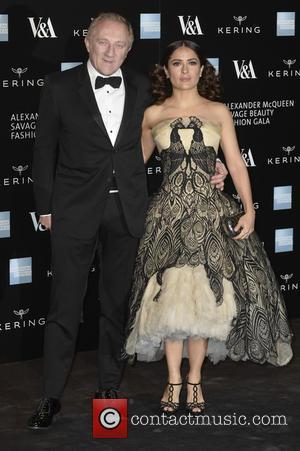 François-henri Pinault and Salma Hayek