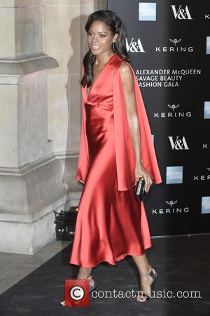 Naomi Harris - 'Alexander McQueen: Savage Beauty' private viewing at the V&A museum in London - Arrivals - London, United...