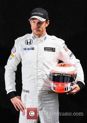 Jenson BUTTON - Formula One - Australian Grand Prix 2015 - Albert Park - Photocall at Olympia Hall - Melbourne,...
