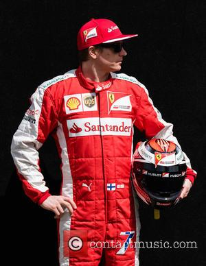 Kimi Räikkönen and (RAIKKONEN) - Formula One - Australian Grand Prix 2015 - Albert Park - Photocall at Olympia Hall...