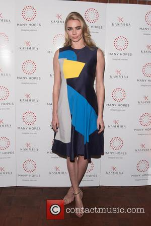 Jodie Kidd - Many Hopes London Banquet & Fashion Show held at Saint Dionis Parson's Green. - London, United Kingdom...