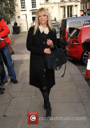 Jo Wood - Mothers Day High Tea Arrivals - London, United Kingdom - Thursday 12th March 2015
