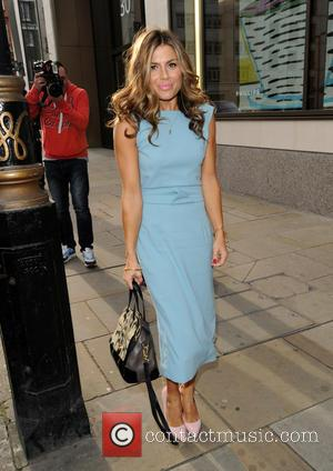 Zoe Hardman - Mothers Day High Tea Arrivals - London, United Kingdom - Thursday 12th March 2015