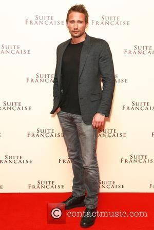 Matthias Schoenaerts - Shots of the stars of 'Suite Francaise' as they attended the premiere which was held at the...