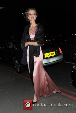 Eva Herzigova - 'Alexander McQueen: Savage Beauty' preview at the Victoria & Albert Museum in London - Arrivals - London,...
