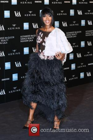 Naomi Campbell - A host of fashionable stars were photographed as they attended the Alexander McQueen: Savage Beauty Fashion Benefit...