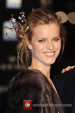 Eva Herzigova - 'Alexander McQueen: Savage Beauty' Private View held at the V&A - Arrivals - London, United Kingdom -...
