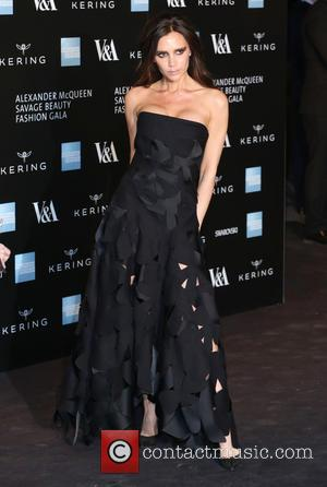 Victoria Beckham - A host of fashionable stars were photographed as they attended the Alexander McQueen: Savage Beauty Fashion Benefit...