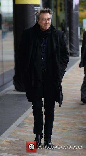 Bryan Ferry - Bryan Ferry arriving at the BBC Breakfast Studios - Manchester, United Kingdom - Thursday 12th March 2015