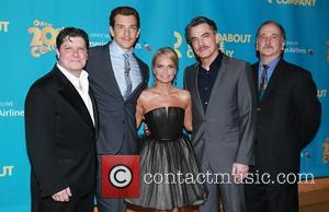Michael McGrath, Andy Karl, Kristin Chenoweth, Peter Gallagher and Mark Linn-Baker