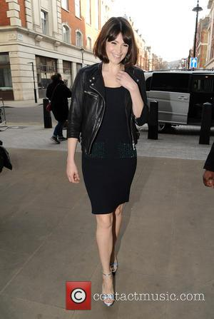 Gemma Arterton - Gemma Arterton arrives at the BBC Radio 1 studios - London, United Kingdom - Thursday 12th March...