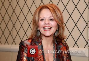 Renée Fleming - Press junket for Broadway play Living On Love held at the Empire Hotel. at The Empire Hotel,...