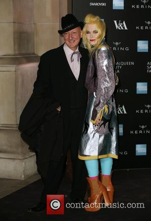 Stephen Jones and Pam Hogg