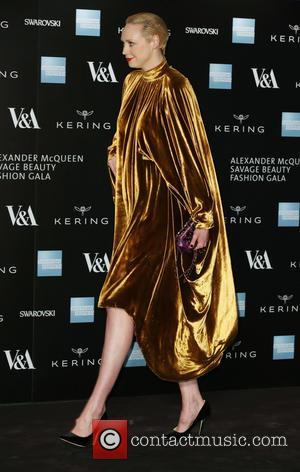 Gwendoline Christie - A host of fashionable stars were photographed as they attended the Alexander McQueen: Savage Beauty Fashion Benefit...