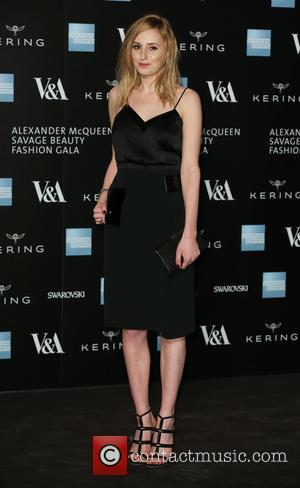 Laura Carmichael - A host of fashionable stars were photographed as they attended the Alexander McQueen: Savage Beauty Fashion Benefit...