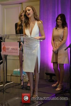 Halston Sage - The Get In Touch Foundation's 2nd Annual 'PRETTY IN PINK' Luncheon & Women of Strength Awards -...