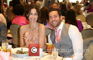 Minnie Driver and Zachary Levi