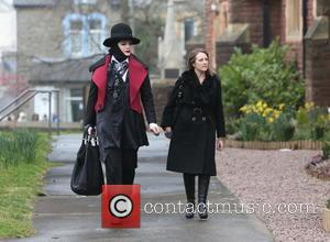 Guests - The funeral of Visage star Steve Strange at All Saints Church, Porthcawl - Porthcawl, United Kingdom - Thursday...