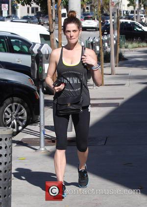 Ashley Greene - Ashley Greene wearing gym clothes and no make-up while out and about - Los Angeles, California, United...