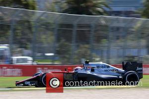 Jenson BUTTON - Formula One - Australian Grand Prix 2015 - Albert Park - Practice at Olympia Hall - MELBOURNE,...