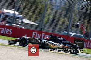 Nico Hülkenberg and (HUELKENBERG) - Formula One - Australian Grand Prix 2015 - Albert Park - Practice at Olympia Hall...