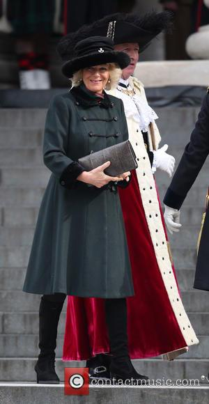 Camilla Duchess of Cornwall - Service of commemoration at St Paul's Cathedral to mark end of the Afghanistan war -...