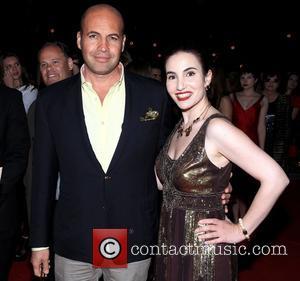 Billy Zane and Vida Ghaffari