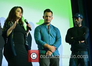 Pras Michel, Producer Karyn Rachtman and Director & Producer Ben Patterson
