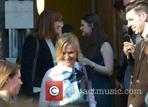 Amy Poehler - Actress Amy Huberman meets her idol, Parks and Recreation star Amy Poehler. The US star was in...