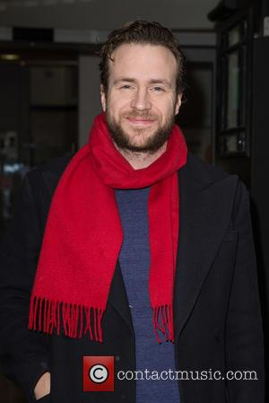 Rafe Spall - Celebrities at the BBC Studios to Aid Dermot O'Leary's Marathon Dance for Comic Relief at BBC Portland...