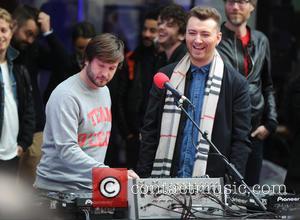 Sam Smith - Comic Relief marathon at BBC Studios in London - London, United Kingdom - Friday 13th March 2015