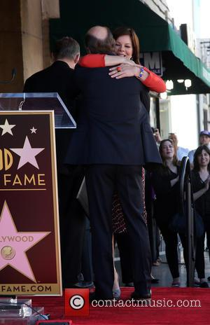 Ed Harris and Marcia Gay Harden - Ed Harris is honored with a star on the Hollywood Walk of Fame...