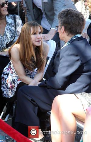 Holly Hunter and Margaret Harris - The ceremony honoring Ed Harris with a Star on The Hollywood Walk of Fame...