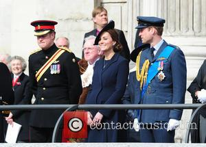Prince Harry, Prince William Duke Of Cambridge and Catherine Duchess Of Cambridge
