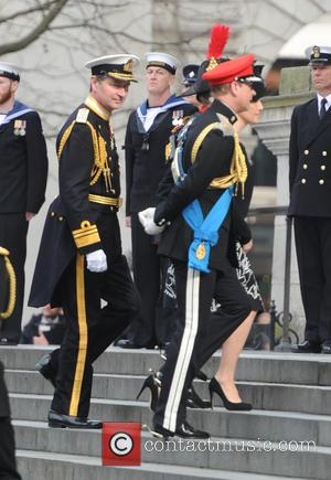 Princess Anne and Tim Laurence - Service of commemoration at St Paul's Cathedral to mark end of the Afghanistan war...