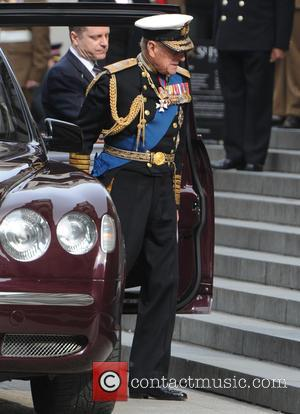 The Duke of Edinburgh - Service of commemoration at St Paul's Cathedral to mark end of the Afghanistan war -...