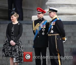 Sophie, Countess Of Wessex, Prince Andrew, Duke Of York, Prince Edward and Earl Of Wessex