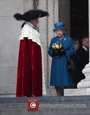 Queen Elizabeth - Service of commemoration at St Paul's Cathedral to mark end of Afghanistan war - London, United Kingdom...
