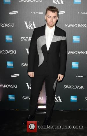 Sam Smith - Alexander McQueen: Savage Beauty - private view at the Victoria and Albert Museum, Kensington, London at Victoria...