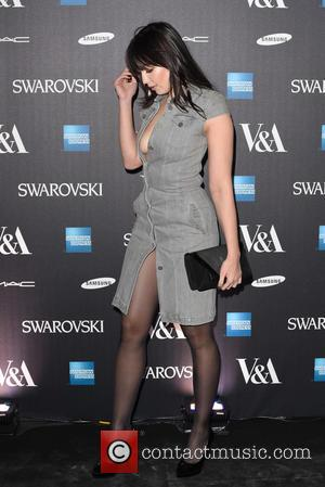 Daisy Lowe - Alexander McQueen: Savage Beauty - private view - London, United Kingdom - Saturday 14th March 2015