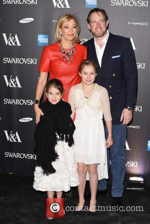 Nadja Swarovski, Rupert Adams and Guests - Alexander McQueen: Savage Beauty - private view - London, United Kingdom - Saturday...
