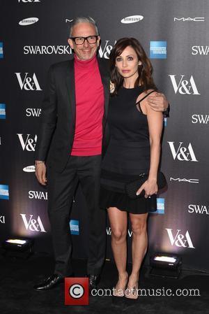 Patrick Cox and Natalie Imbruglia - Alexander McQueen: Savage Beauty - private view - London, United Kingdom - Saturday 14th...
