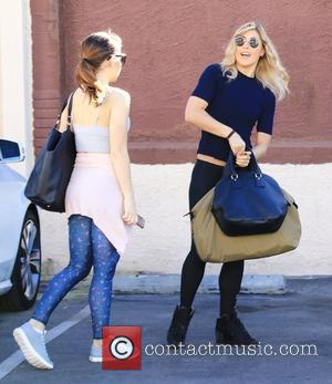 Emma Slater - Celebrities at the dance studio for 'Dancing With The Stars' rehearsals at Dancing With The Stars rehearsal...