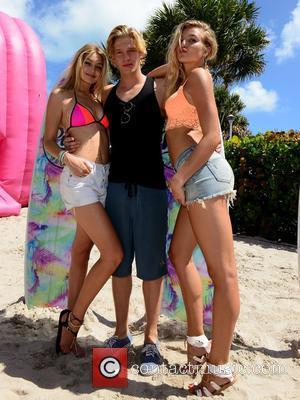 Gigi Hadid, Cody Simpson and Rachel Hilbert