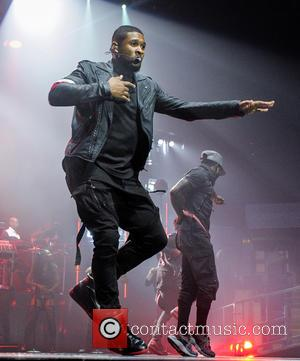 Usher - Usher performing live in concert as he opens his UK tour in Nottingham at the Capital FM Arena...