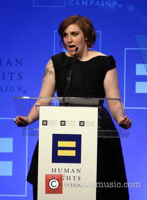 Lena Dunham Backs Hillary Clinton For President