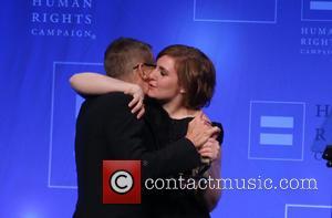 Michael Lombardo and Lena Dunham