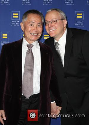 George Takei and Brad Takei - HRC Los Angeles Gala Dinner 2015 at the JW Marriott Hotel at LA Live...