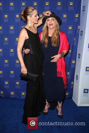 Maria Bello and Clare Munn - HRC Los Angeles Gala Dinner 2015 at the JW Marriott Hotel at LA Live...